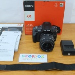 Sony a330 Lensa kit 18-55mm