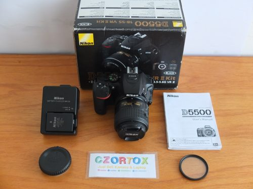 Nikon D5500 Kit 18-55 VR II Wifi
