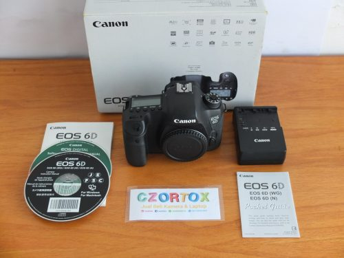 Canon 6D Body Only Non Wifi Mulus