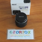Lensa Meike 35mm f1.7 for FujiFilm Mulus