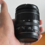Lensa FujiFilm XF ebc 18-55mm Mulus
