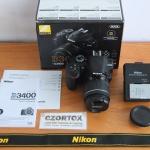 Nikon D3400 AF-P 18-55mm VR II Like New SC 6 Ratusan