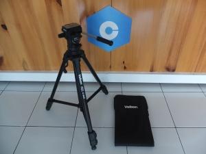 Tripod Video Velbon C500 Vel-Flo PH-358 Mulus