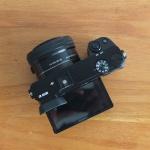 Sony A6000 Lensa 16-50mm OSS Black Like New SC 8 Ratusan