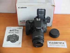 Canon 700D Kit 18-55mm IS STM Mulus Sc Rendah