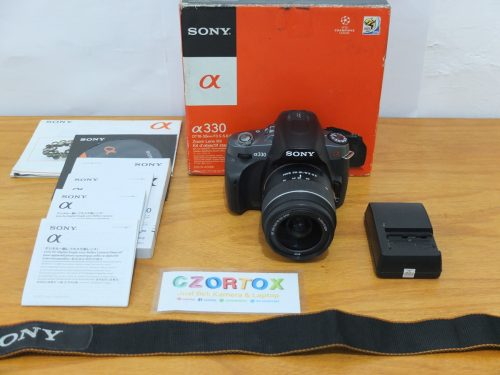 Sony a330 Lensa kit 18-55mm Murmer