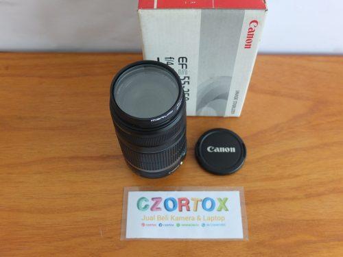 Lensa Canon EFS 55-250 mm IS I Istimewa