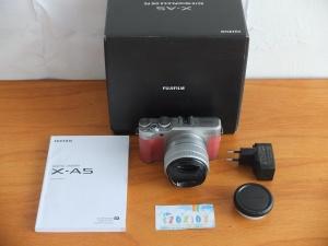 Fujifilm X-A5 Lensa 15-45mm Pink Istimewa