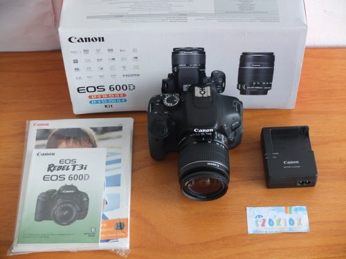 Canon 600D Kit 18-55 mm IS II Mulus