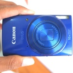 Canon Digital IXUS 190 Blue Istimewa Masih Garansi