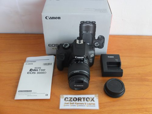 Canon 3000D EF-S Kit 18-55 mm III Mulus
