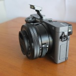 Sony A6000 Lensa 16-50mm OSS Silver Like New SC 600 an