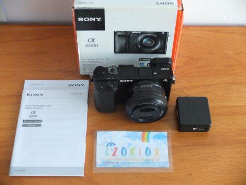 Sony A6000 Lensa 16-50mm OSS Black
