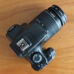 Canon EOS 1100D Lensa kit 18-55mm Mulus