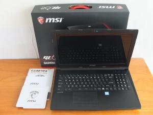 MSI GL62 7QF Core i7  7700HQ Ram 8gb GTX 960M 2gb