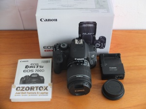 Canon 700D Kit 18-55mm IS STM SC 2.XXX Like New