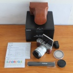 Fujifilm X-A3 Lensa 16-50mm Bonus Leather Case + Mmc 16 Gb + Filter