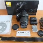 Nikon D3000 Lensa Kit 18-55m SC 6xxx Mulus