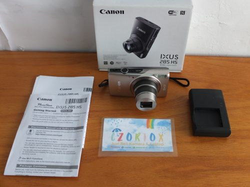 Canon Digital IXUS 285 Silver 1080P Video 20 MP Like New