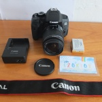 Canon 650D Lensa EF-S 18-55 mm IS II SC 1.xxx Like New