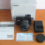 Canon M100 Kit 15-45mm Flip Screen Mulus Istimewa