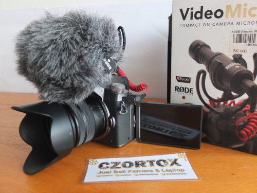Lumix DMC-G7K 14-42 TouchScreen + Microphone Rode