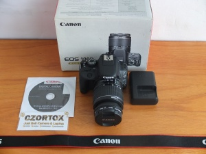 Canon 100D Kit 18-55 mm IS III Mulus