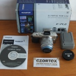 Olympus E-PL6 Lensa 14-42 mm Touchscreen