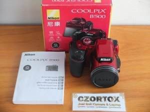Nikon Coolpix B500 RED With Zoom Optical 40x