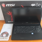 MSI GL62 Core i7 7700HQ Ram 8gb GTX 1050 Approx 6Gb