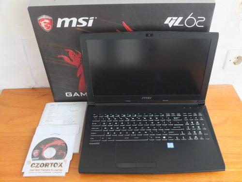 MSI GL62 Core i7 7700HQ Ram 8gb GTX 1050 Approx 6Gb