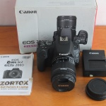 Canon 200D Kit 18-55mm Black Istimewa