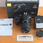Nikon D5600 Kit AF-P Nikkor 18-55mm Mulus Istimewa