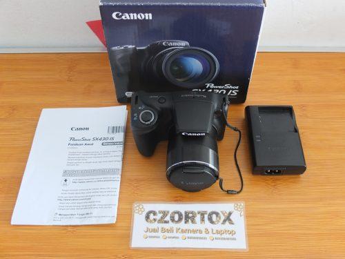 Canon Power Shot SX430IS Like New Masih Garansi