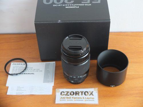Lensa Fujinon XF 55-200mm F3.5-4.8 R LM OIS