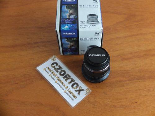 Lensa Olympus M.Zuiko 45mm F1.8 ( bisa di pake juga untuk BODY Lumix )