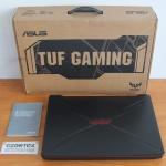 Asus Gaming TUF FX505GD i7-8750HQ GTX 1050 4GB Mulus Garansi Sampai 2021