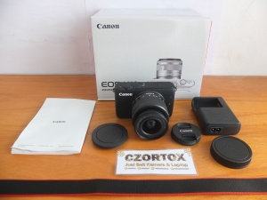 Canon M10 Kit 15-45mm STM Mulus