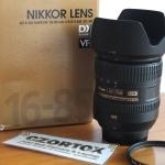 Lensa Nikon AF-S 16-85mm F3.5 Mulus
