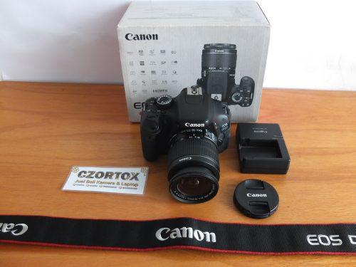 Canon 600D Kit 18-55 mm IS II