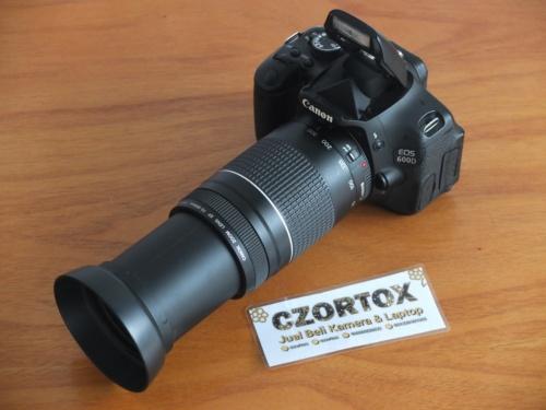 Canon 600D Lensa EF 75-300 mm III