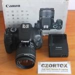 Canon 600D Lensa EF-S 18-55 Mulus Sc Rendah