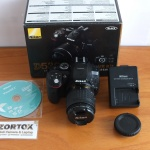 Nikon D5300 Kit AF-P 18-55mm Wi-Fi SC Rendah Mulus