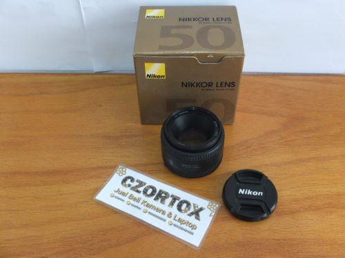 Lensa Nikon AF 50mm F1.8D