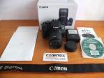 Canon 700D Kit 18-55mm IS STM SC 12.Xxx Mulus