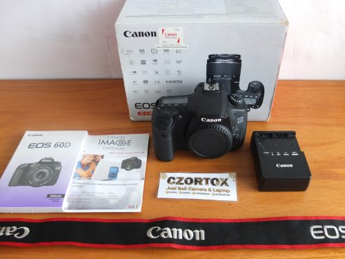 Canon 60D Body Only Sc 7.Xxx Mulus