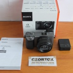 Sony A6000 Lensa 16-50mm OSS Silver Like New SC 2.xxx