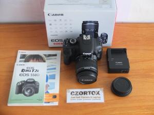 Canon 550D Lensa kit 18-55mm SC 2.Xxx Like New