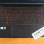 MSI GF63 Ci5-9300H SSD NVMe 256gb GTX 1050 Ti Garansi Panjang