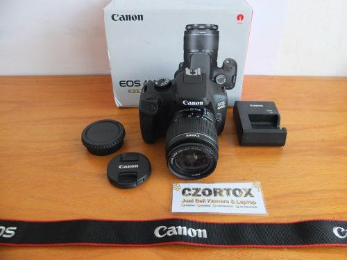 Canon 4000D Lensa Kit 18-55mm Garansi Sampai September 2020